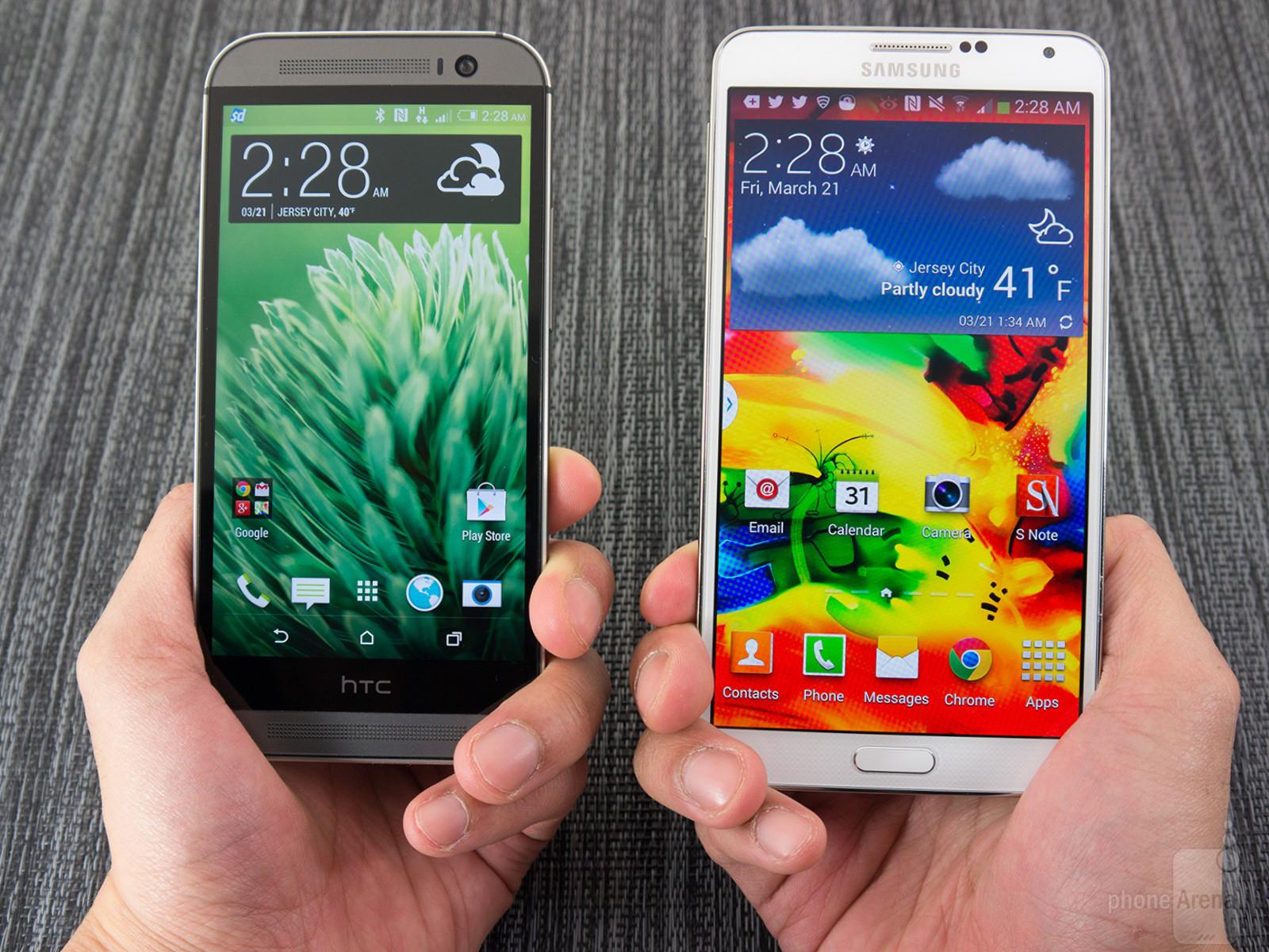 Galaxy Note 3 Neo vs Htc One